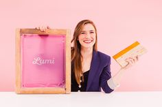 Learn How to Screen Print and Make Custom ANYTHING for Under $20 via Brit + Co.