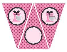 Baking in Pink: Free Printable Kit.