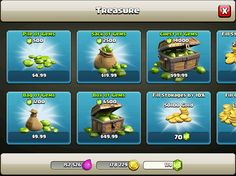 clash of clans ui - Google Search