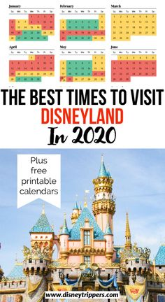 If you're looking for the best time to visit Disneyland in Anaheim, look no further than this Disneyland Crowd Calendar. Disneyland Crowd Calendar, Disneyland Crowds, Disneyland Secrets, Disneyland Vacation, Disneyland California, Disney Vacations, Disney Travel, Disneyland America, Disneyland Christmas