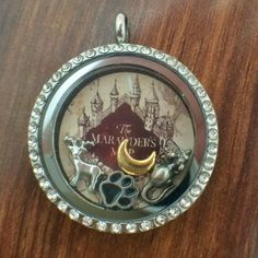 Harry+Potter+Marauder's+Map+Themed+Floating+by+PopCultureLockets,+$2.00