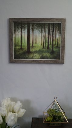 My roommate kicks ass at nature paintings! Each one is one of a kind and absolutely stunning. Check out her Etsy shop! Original 11x14 inch Green Forest Watercolor by NatureDesignsShop https://www.etsy.com/listing/515255341/original-11x14-inch-green-forest?ref=shop_home_active_4