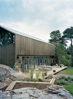 Beautiful deck!    Plus House by Claesson Koivisto Rune. Slideshow: Sum of Its Parts | Dwell