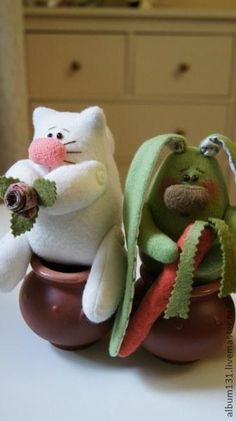 Весёлые игрушки из флиса...Легко и просто... - Ярмарка Мастеров - ручная работа, handmade