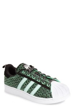 adidas \u0027Superstar\u0027 Glow in the Dark Sneaker (Men)