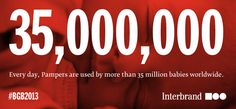 Interbrand – Best Global Brands 2013 - Pampers