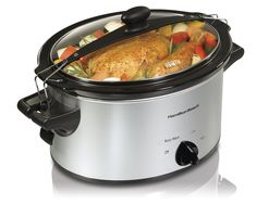 Best Slow Cookers: Hamilton Beach 33249 Stay or Go Slow Cooker, 4-Quart