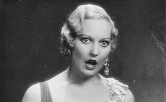 """Thelma Todd can't believe what she's seeing in """"Chickens Come Home,"""" 1931."""
