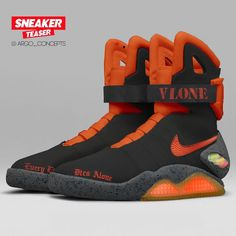 Nike Air Mag, Futuristic Shoes, Sneakers Fashion, Shoes Sneakers, Nike Boots, Nike Shoes Air Force, Winter Shoes For Women, Fresh Shoes, Hype Shoes