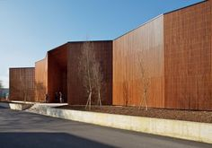 Paul Bailliard Cultural Center, Massy, France  by: Fassio-Viaud