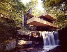 Falling Water in Mill Run, Fayette County, Pennsylvania (90min south of Pittsburgh)-still want to go here