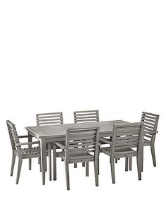 melrose table 6 chairs