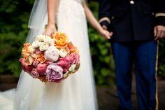 Colorful bridal bouquet. Photo by Casey Fatchett - www.fatchett.com