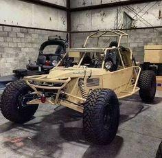 Cool dune buggy in desert color! Beetles Volkswagen, Volkswagen Bus, Vw Camper, Vw Beach, Beach Buggy, Desert Buggy, Army Vehicles, Armored Vehicles, Offroad