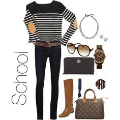 """""""School"""" by thepreppylife on Polyvore"""