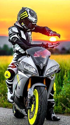 jpn_leather edit up Bike Suit, Motorcycle Suit, Gp Moto, Moto Bike, Photo Pour Instagram, Biker Boys, Cafe Racer Bikes, Bike Style, Joker And Harley Quinn