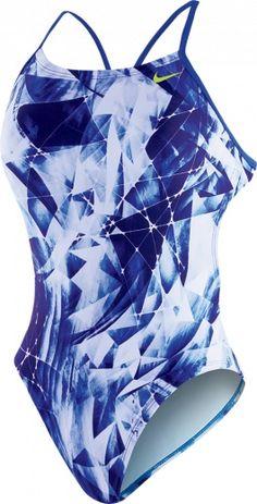 Kaleidotech Cut-Out-Tank NESS5004 | Nike Swim