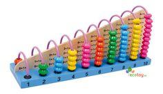 Mathematisches Lernspielzeug Rechenrahmen zum Lernen der Addition und Subtraktion