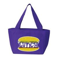 "Some kids love lunch so much that they'd even eat the word ""lunch""! If your kid is one of those, show them this bag."