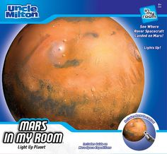 Uncle Milton - Mars in My Room ** Don't get left behind, see this great product offer  : Kids Room Decor