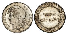 Chile, Numismatic Coins, Bit Coins, Copper Nickel, Coin Collecting, Notes, Personalized Items, World, Vintage Paper