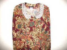 Vintage Dress 80's Fashion Size 8 by FabricDivaLady on Etsy, $11.00