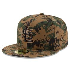 Men's St. Louis Cardinals New Era Digital Camo 2016 Memorial Day 59FIFTY Fitted Hat