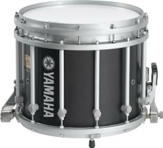 """Yamaha MS-9214 Sforzando Snare Drum Black Forest 14X12 by Yamaha. $529.99. 14"""" x 12"""" snare with free-floating, 6-ply birch shell. Solid die-cast rims and suspension ring, 12 lugs, 10 extended individually tunable FibreTech snares, 12 stabilizer power posts with gravity guards, and 3 protective feet. With easily removable snare assembly for easy changing of bottom head."""