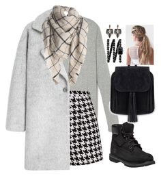 """""""Untitled #1410"""" by froggydisastier ❤ liked on Polyvore featuring Emma Cook, MANGO, Timberland, Lulu Frost and Chanel"""
