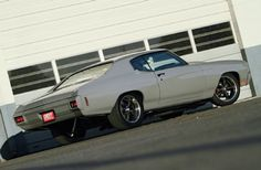 1970 Chevrolet Chevelle Rear Side View
