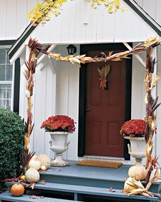 Fall Harvest Decorating - Martha Stewart Home & Garden