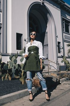 How to Wear Layers this Spring - The Chriselle Factor