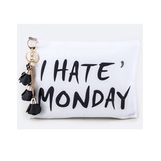I Hate Monday Cosmetic Bag