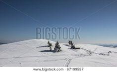 #Snowy #Winter #Landscape With #Trees and #Cottage @Bigstock #Bigstock @carinzia #ktr14 #nature #carinthia #austria #stock #photo #download #portfolio #hires
