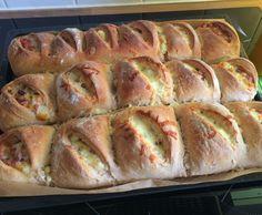 Rezept Handbrot mit Champignons und Käse von LeaLiebtsLecker - Rezept der Kategorie Backen herzhaft