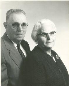 Grandma & Grandpa O'Donnell - taken in the early 1960's