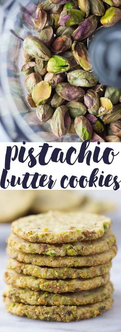 Pistachio Butter Cookies - easy cookie recipe that will keep you coming back for more! // Fork in the Kitchen