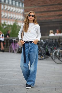 Baggy denim done right.