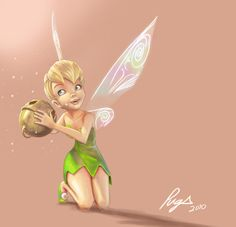 this should be the birthday gift for my 8 years old sister She loves Tinkerbell, i'll print a poster of it for her I used a screenshot from the movie as reference lol i had to watch it xD!!! I...