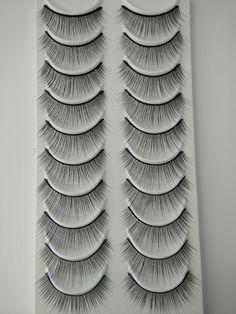 Model 21 Eyelashes No.36