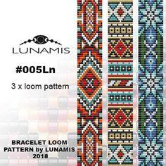 Loom Bracelet Patterns, Bead Loom Patterns, Loom Bracelets, Beading Patterns, Stitch Patterns, Mosaic Patterns, Making Bracelets With Beads, Beaded Bookmarks, Beadwork Designs