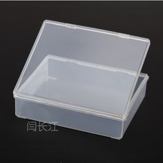 R660 Plastic Box Transparent Hardware Part Product Packaging Pp