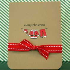 i heart scrapbooking: The Twelve Cards of Christmas: Card 1