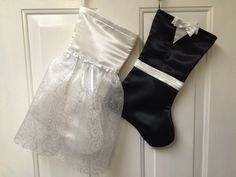 A personal favorite from my Etsy shop https://www.etsy.com/listing/257463529/customized-bride-and-groom-christmas