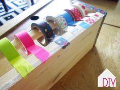 rangement pour masking tape #IKEAhack