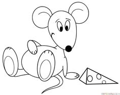 How To Draw Cartoon Mouse Step By Drawing Tutorials For Kids And Beginners