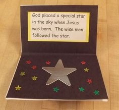 Baby Jesus Book | Bible Songs And More.  December craft.  Love it.