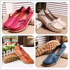 ONLY $14.87  Hot-sale Big Size Pure Color Slip On Lace Up Soft Sole Comfortable Flat Loafers - NewChic    |flats | flats shoes| flats outfit| flats shoes outfit | flats| flats stomach flats shoes flats belly fall flats flats outfit flats tummy ballet flats flats iron cute flats|