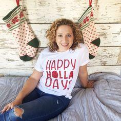 Christmas Ootd, Christmas Fashion, Mom Fashion, Womens Fashion, Three Daughters, Mom Style, Tee Shirts, Seasons, Holidays