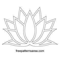 Meaning of Lotus Flower Stencil Vector - Meaning of Lotus Flower Stencil Vector -You can find Lotus and more on our website.Meaning of Lotus Flower Stencil Vector - Meaning. Lotus Flower Meaning, Lotus Flower Art, Flower Outline, Lotus Meaning, Lotus Outline, Lotus Flower Paintings, Lotus Flower Drawings, Lotus Flower Design, Painting Templates